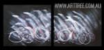Wandering Design Abstract Modern Heavy Texture Artist Handmade 2 Piece Split Canvas Paintings Wall Art Set