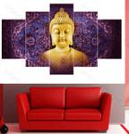 Purple Background Buddha