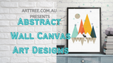 Abstract Wall Canvas Art Designs Video