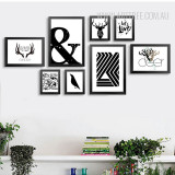 Multi Panel Wall Art Set for Big Size Walls