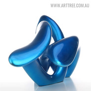 ZigZag Abstract Resin Sculpture for Sale