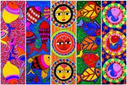 Fish Rangoli Pattern
