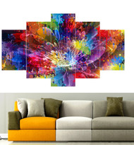 5 Piece Abstract Print