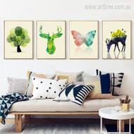 4 Piece Nordic Art
