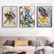 3 Piece Canvas Art Set for Home Interiors