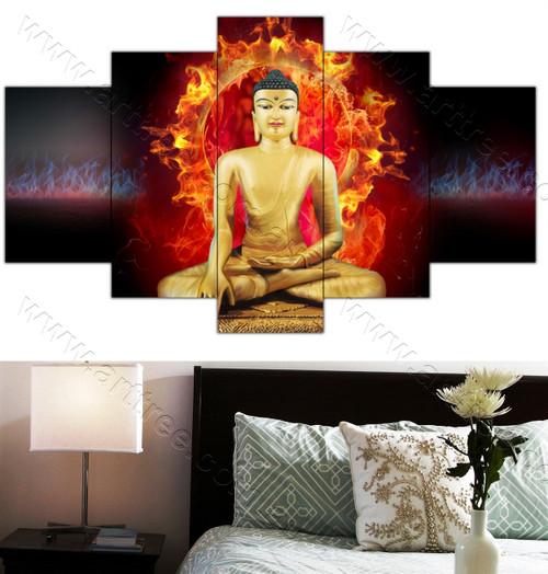Buddha & Fire