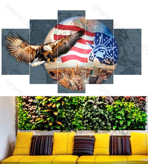 Eagle & USA City