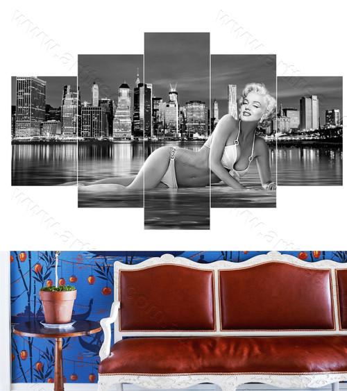 Grey Marilyn Monroe