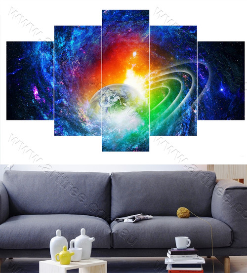 Planet Print Sets of 5