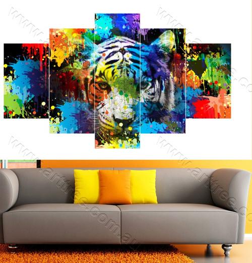 Multicolor tiger