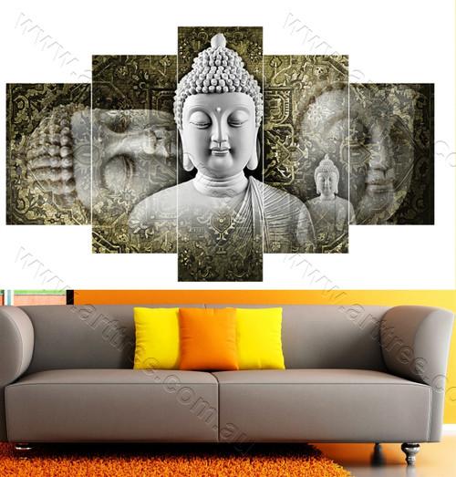 Grey and Green Buddha