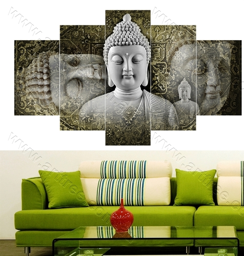 Traditional grey Buddha