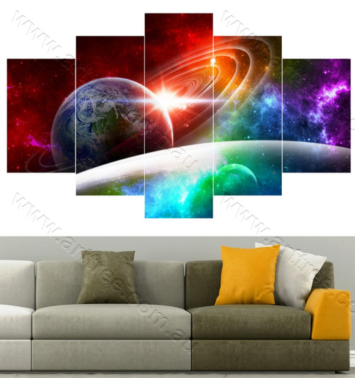 Multicolor Universe