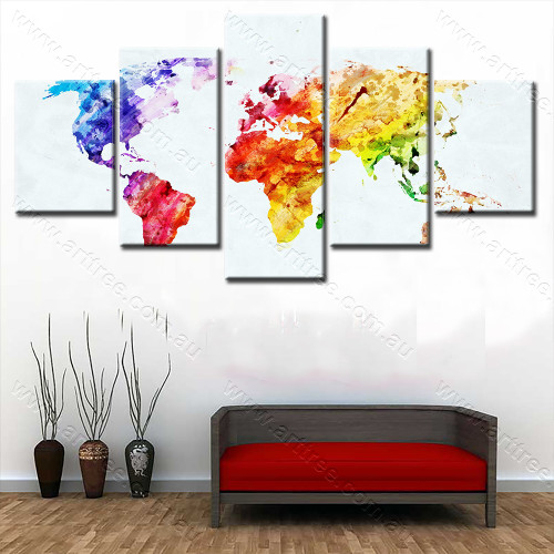 Colorful Map1 Design
