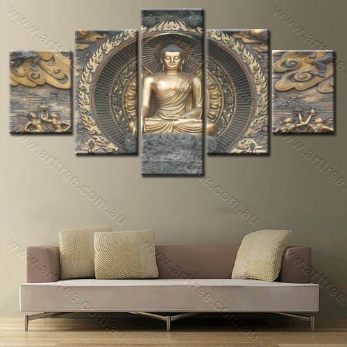 Golden Lord Buddha