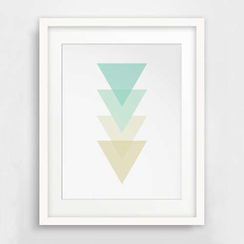 Abstract Geometric Triangles