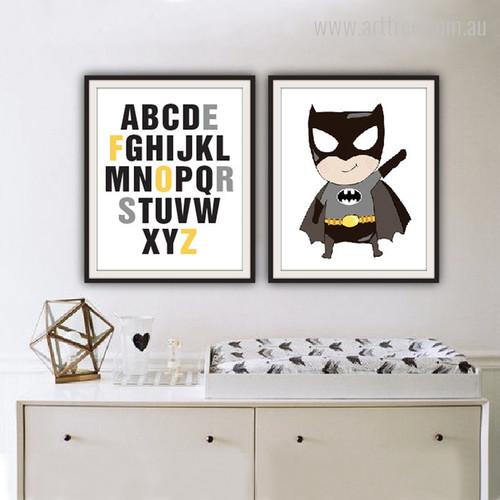 Batman Cartoon and ABC