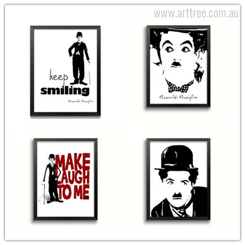 English Comic Actor Charlie Chaplin