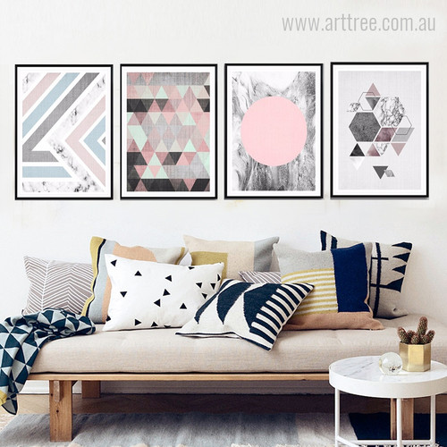 Geometric Nordic Canvas Print