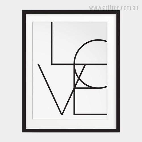 Minimalist Love Design