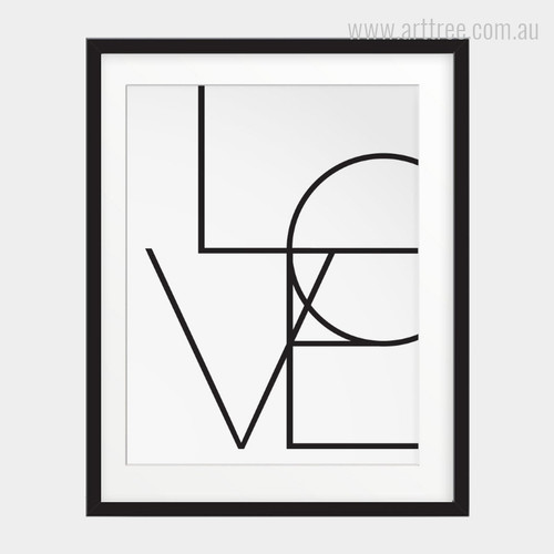 Minimalist Love Design