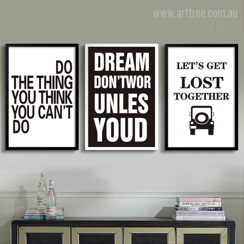 Do The Thing, Dream, Let's Get Lost Together Quote