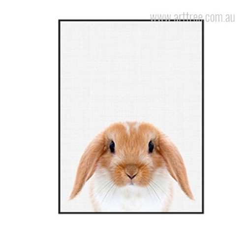 Kawaii Guinea Pig Animal Cute Home Decor Print