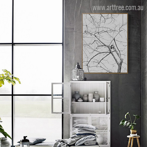 Modern Tree Branch Wall Art