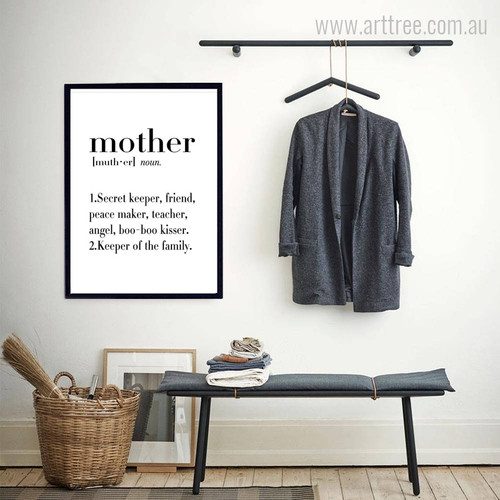 Mother Definition Family Quotes Art
