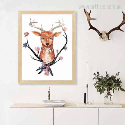 Deer Animal African Photo Art
