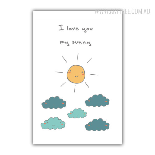 I Love You My Sunny Art for Kids
