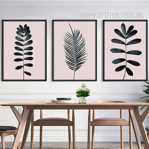 Palm Leaf Art Design Digital Canvas Prints