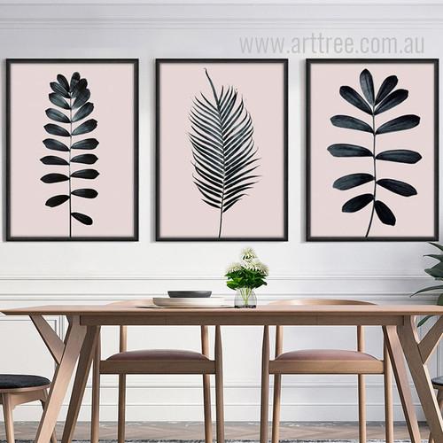 Palm Leaf Art Design Digital Canvas Prints
