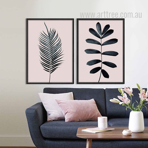Palm Leaf Print Design Botanical Art