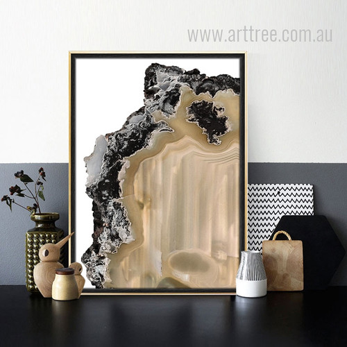 Abstract Gems Art Print