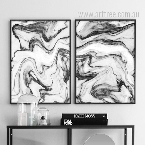 Watercolor Pattern Abstract Marble Art