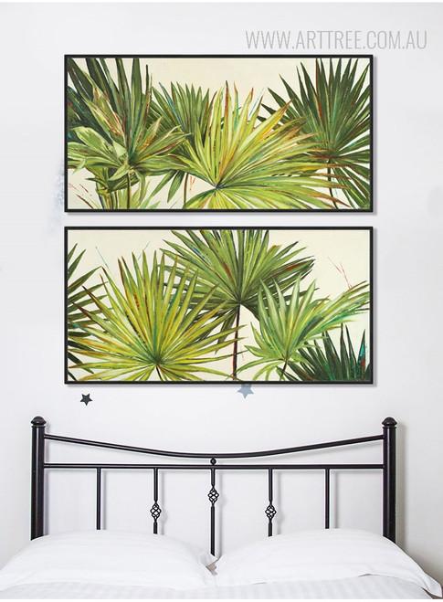 Botanical Palm Tree Tropical Plants Art