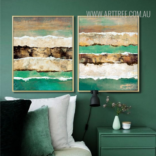 Abstract Earth Crust Canvas Painting Prints