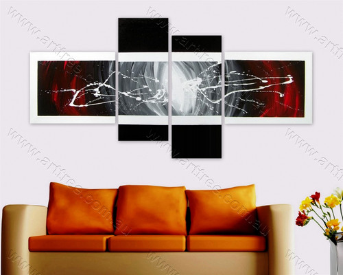 modern art oil painting Splash Pattern