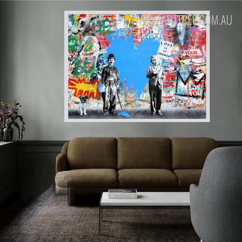 Follow Your Dreams Street Art Graffiti Print