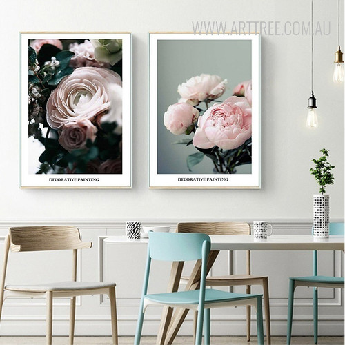 Rose Flower Plants Decorative Painting Prints
