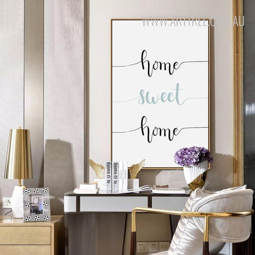 Home Sweet Home Words Print