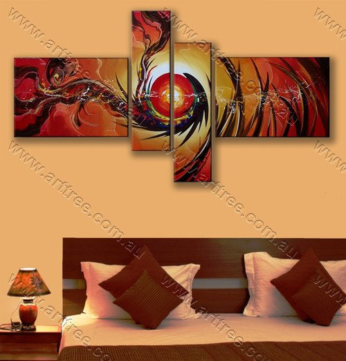 Beautiful interior artwork Sun Design