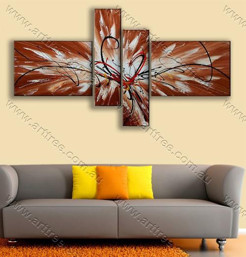 interior artwork Splash Pattern