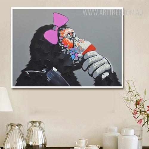 Cool Female Orangutan Animal Art