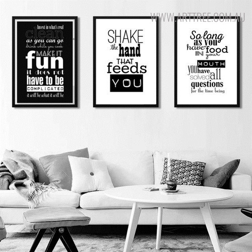 Make it Fun Quotes Wall Painting Print