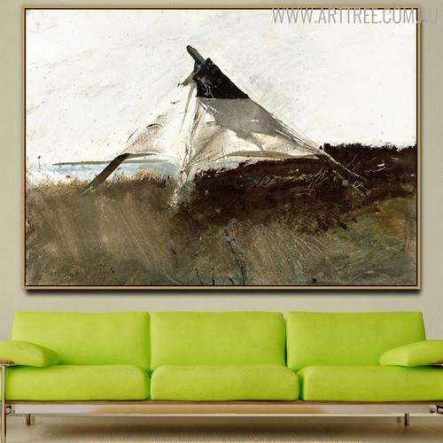 Coastal Survey Famous Artists Still Life Scandinavian Painting Canvas Print for Living Room Wall Ornament