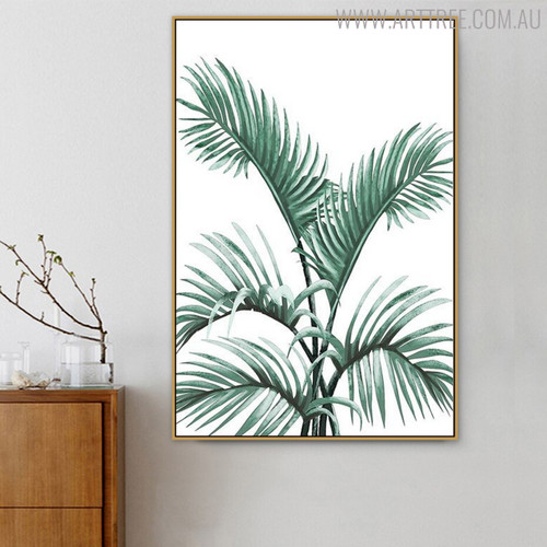 Palm Botanical Modern Painting Print for Living Room Wall Ornament