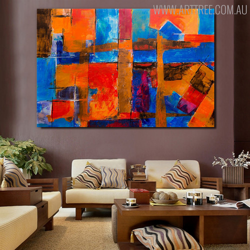 Dapple Likeness Abstract Canvas Artwork for Room Wall Getup