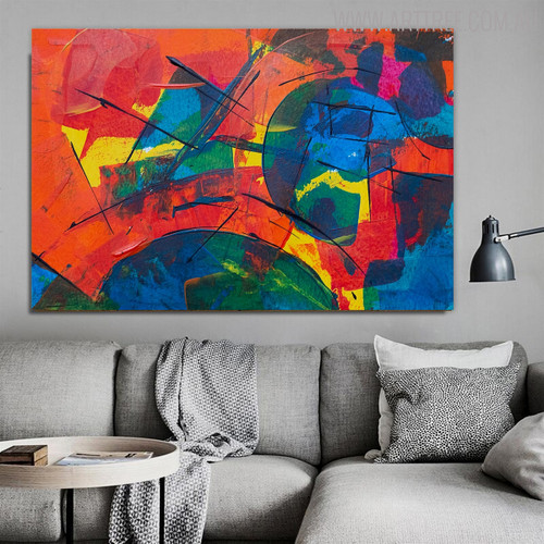 Dapple Abstract Acrylic Painting for Lounge Room Wall Decor